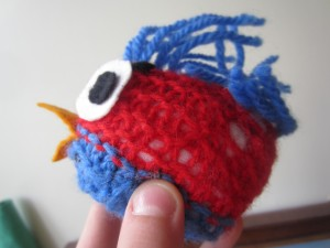 Angry bird made by Andrew